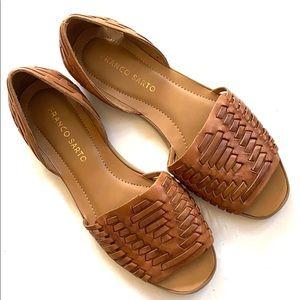 Like new Franco Sarto leather sandals